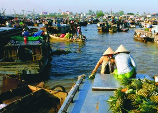 SAIGON - CAODAI TEMPLE - CUCHI - MEKONG - SAIGON CITY  IN 6 DAYS 5 NIGHTS